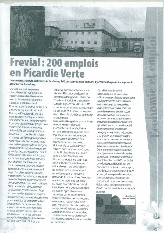 Presse - Emplois en Picardie Verte