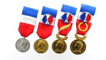 médailles du travail 2017